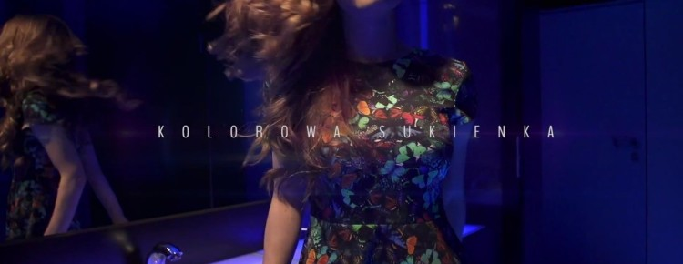 Long & Junior - Kolorowa sukienka
