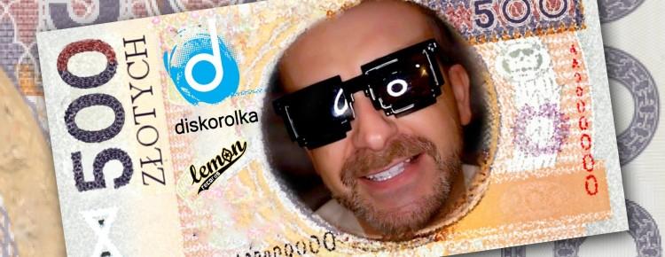 Diskorolka - 500 złotych